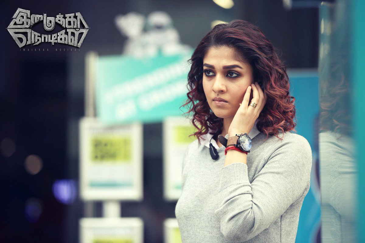 Nayantara gives Space to Kamal Haasan