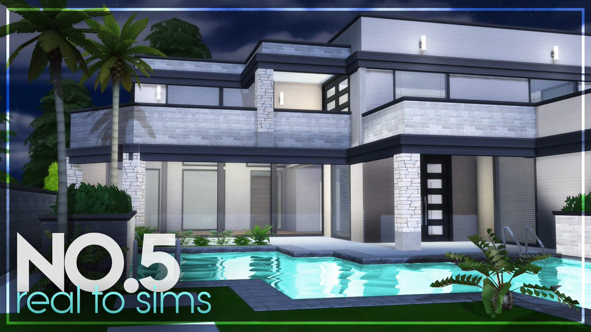 Mr Olkan On Twitter Asmr Build 3 Bedroom 3 Bathroom House Tour Real To Sims No 5 Https T Co Lyuoaocssx Youtube Modern House Modernhomes Realtosims Sims Sims4 Thesims Thesims4 Realtosims4 Tour