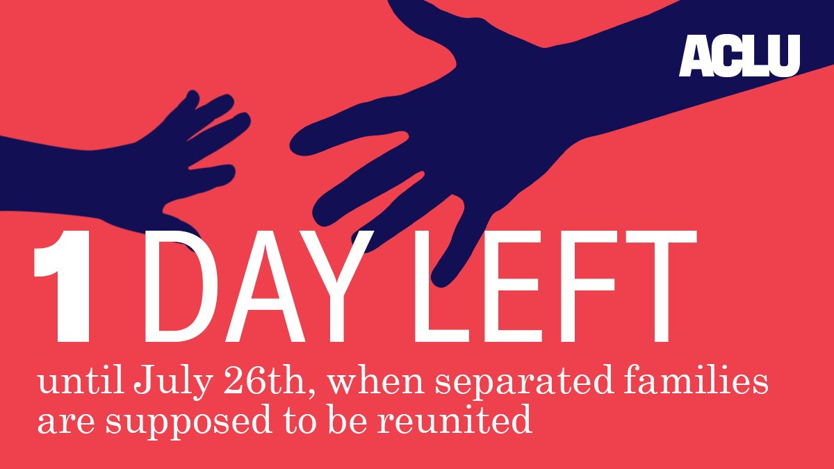 �� We'll continue fighting until the Trump administration reunites families. #FamiliesBelongTogether https://t.co/ed2nZn7xOd