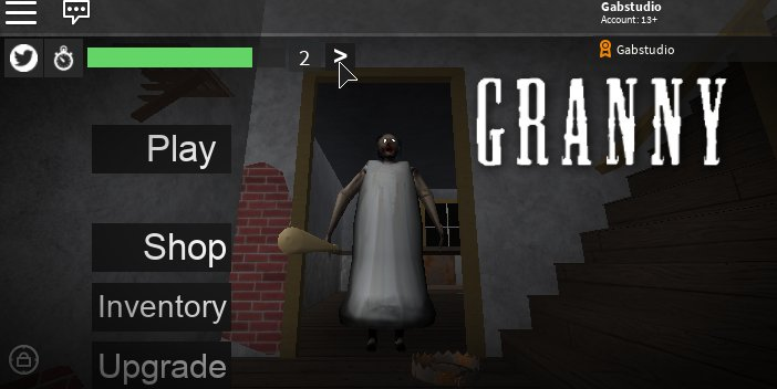 Gab On Twitter Roblox Robloxdev Granny Very Soon A