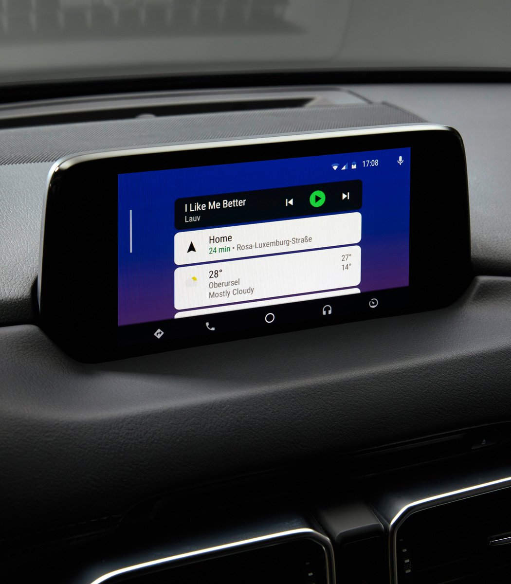 Mzd Connect Android Auto >> Mazda Motor Europe On Twitter Apple Carplay Support For Your