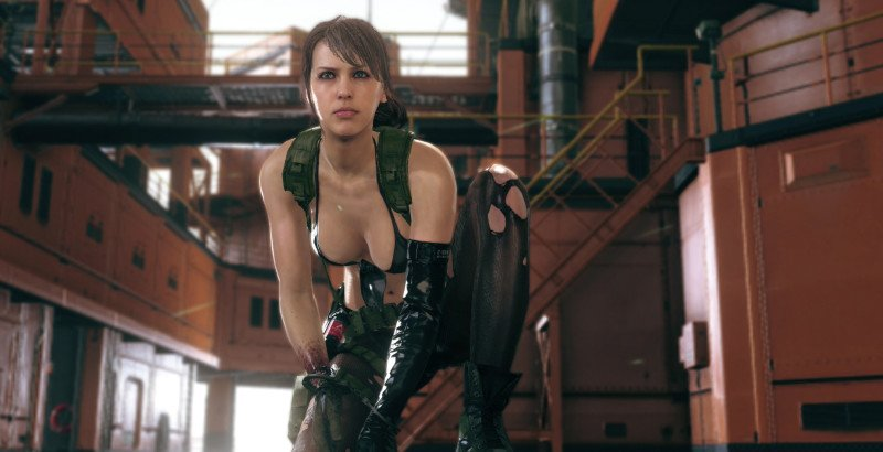 """Gamology on Twitter: """"#MetalGearSolidV let's you play as #Quiet ..."""