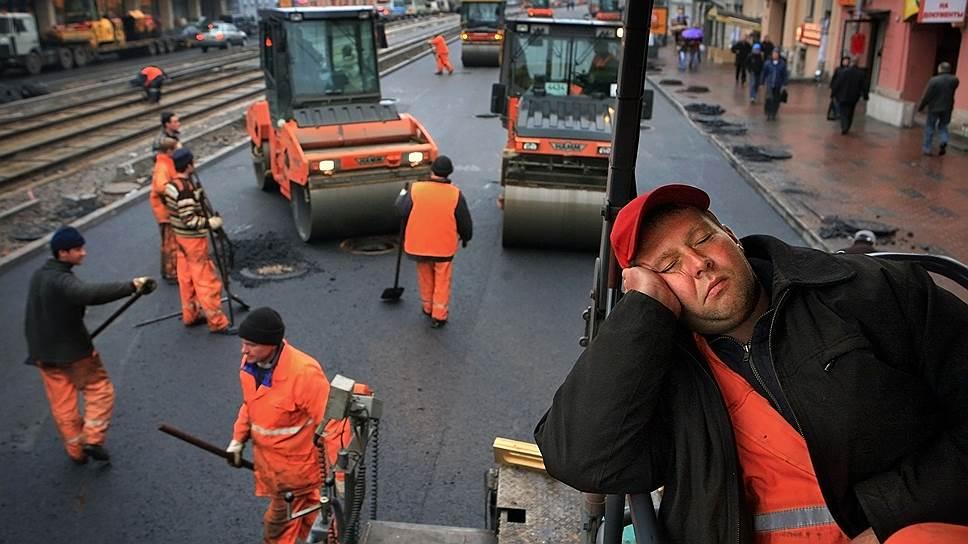 Прикольные картинки про ремонт дорог