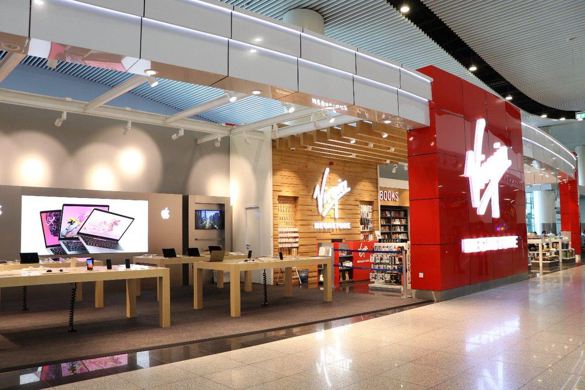O Xrhsths مطارات الرياض Sto Twitter يمكنك الآن الاستمتاع بالتسوق من متجر أبل التابع لشركة فيرجن ميجا ستور الموجود بالصالة 5 ضمن خيارات التسوق المتنوعة في مطار الملك خالد مع تمنياتنا لكم بتجربة