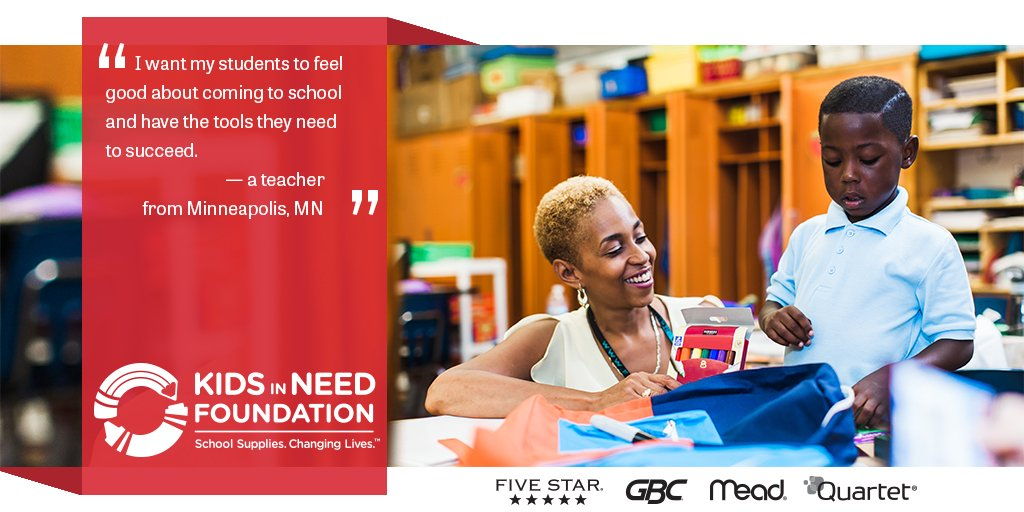 What supplies do teachers and students need the most? #HowMuch #StrengthNotStress @KINF https://t.co/56falI8cl9