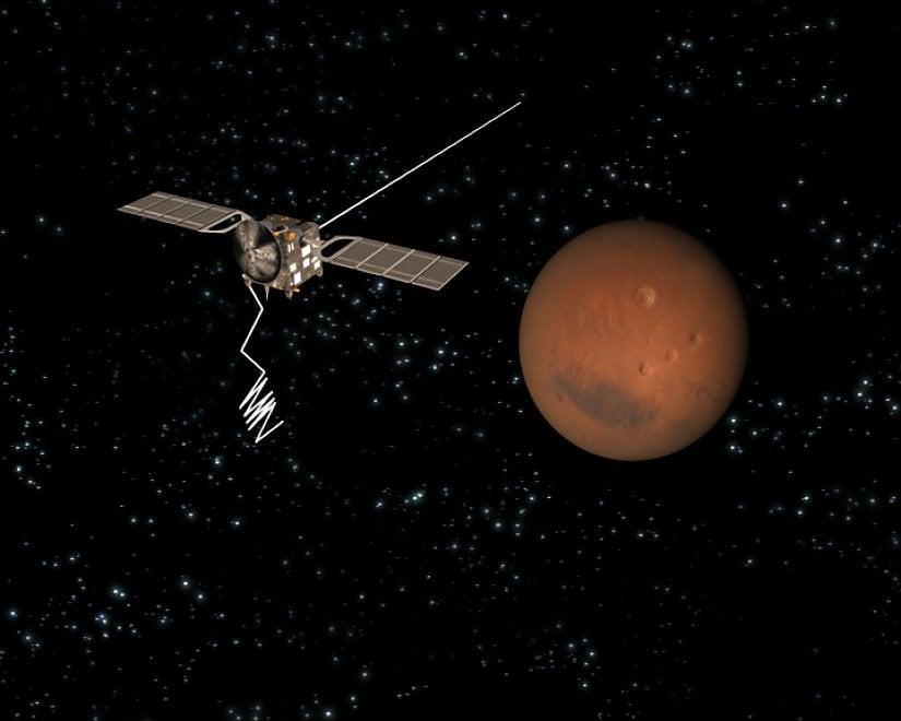Scienziati italiani scoprono acqua liquida su #Marte https://t.co/n7VtWjcvej