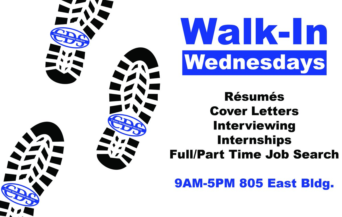 Counselors Are Available Every Wednesday During Our Walk In Hours To Help  You With Your Resume, Cover Letter, Internship Or Job Search And Much ...