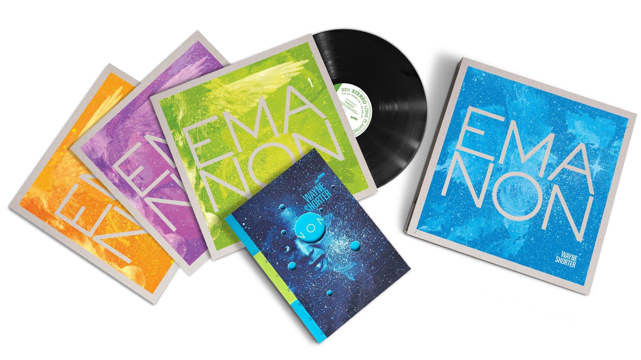 Reloaded twaddle – RT @bluenoterecords: Presenting @Wayne_Shorter #Emanon! New triple album Wayne S...