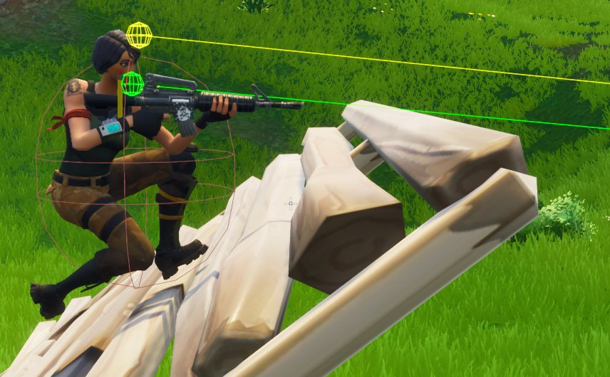 Vg247 On Twitter Fortnite S Latest Patch Fixes Ghost Peeking