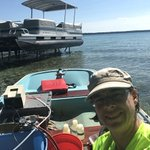 Today my lab is Higgins Lake. @MSUHydro