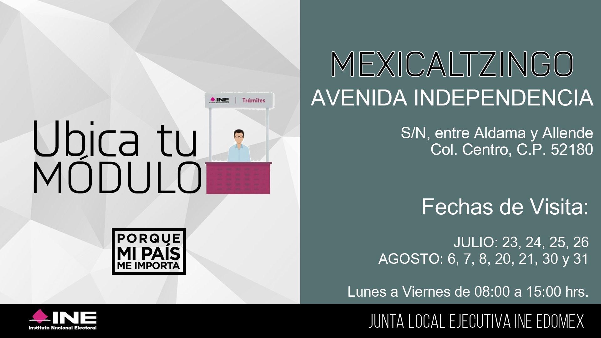 Ine Estado De México On Twitter Acude Al Módulo De