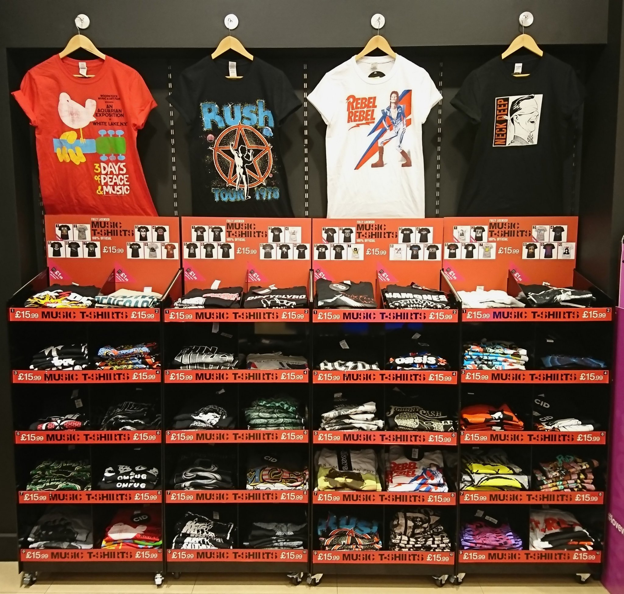 2018 shoes pretty cool new concept T Shirts At Hmv Uk | Coolmine Community School