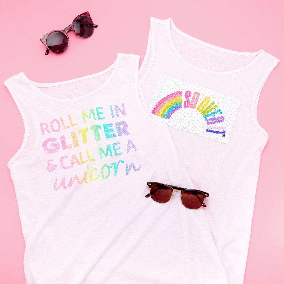 a4a22df7 Get summer ready with our clubmaster sunglasses, rainbow tank tops &  colorful coin purses 😎 ✨ 🌈 Shop in store & online now!  #ItsAtClairespic.twitter.com/ ...