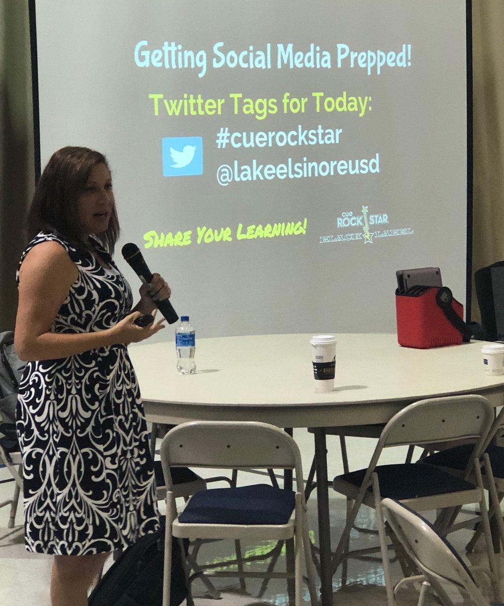 @CoriOrlando1 kicks it into high gear @LakeElsinoreUSD #cuerockstar #teachleusd.