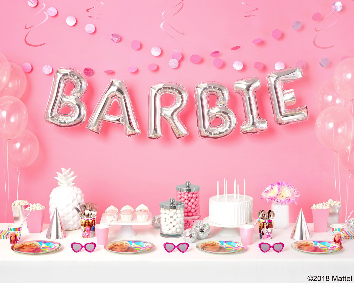 Barbie On Twitter Make Your Next Party Sparkle In True