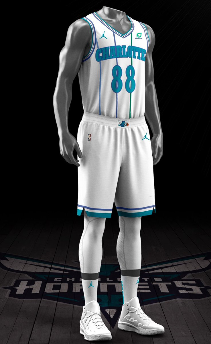 2e63f0a2f JUST IN: The @hornets have unveiled the classic white retro jerseys to be  worn for at least six classic nights this season to celebrate 30th  anniversary of ...