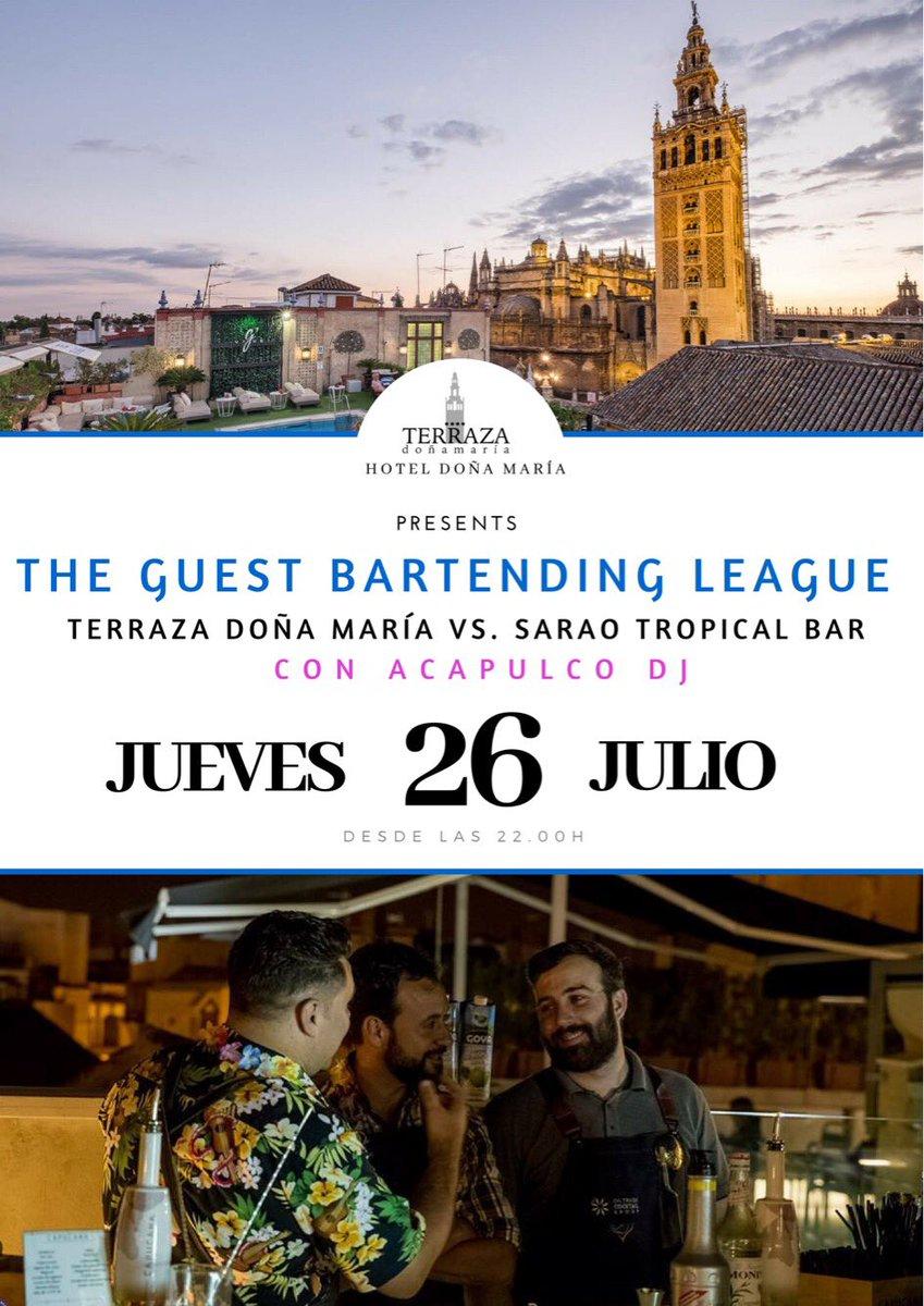 Hotel Doña María على تويتر Veranos En Nuestra Terrazadm