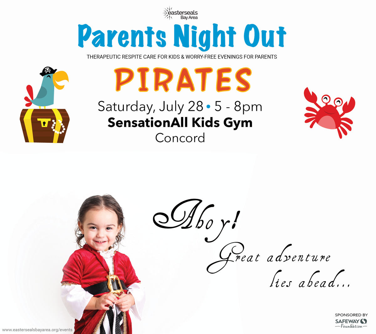 Eastersealsbayarea On Twitter Check Out Parentsnightout In