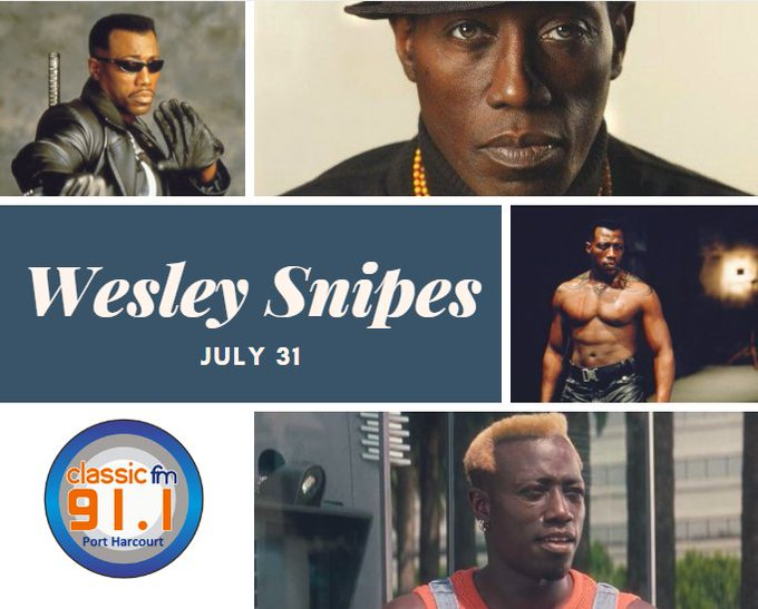 Happy birthday to actor, film producer, martial artist and author, Wesley Snipes