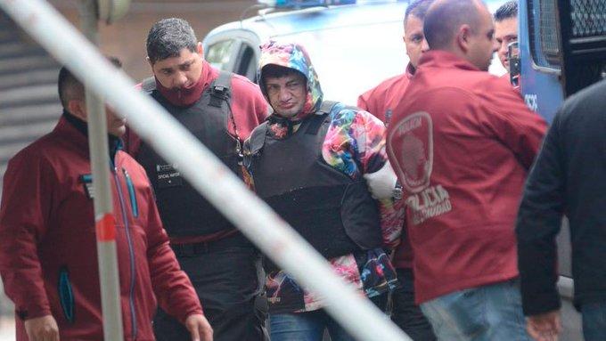Tras confesar el crimen, Pity Álvarez se negó a declarar ante el juez. Quedará detenido en la cárcel de Ezeiza Foto