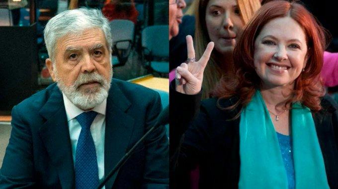 Procesaron a Julio De Vido y a Andrea del Boca por defraudación con la serie Mamá Corazón Foto