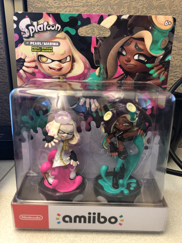 Happy amiibo release day! Who picked up Marina and Pearl? Share your pics in the replies! https://t.co/X8ojItN0U3