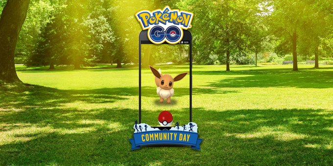 Trainers, get ready for a very special #PokemonGOCommunityDay weekend featuring Eevee! On Saturday, August 11, and Sunday, August 12, Eevee will appear in the wild more frequently for three hours each day. Photo