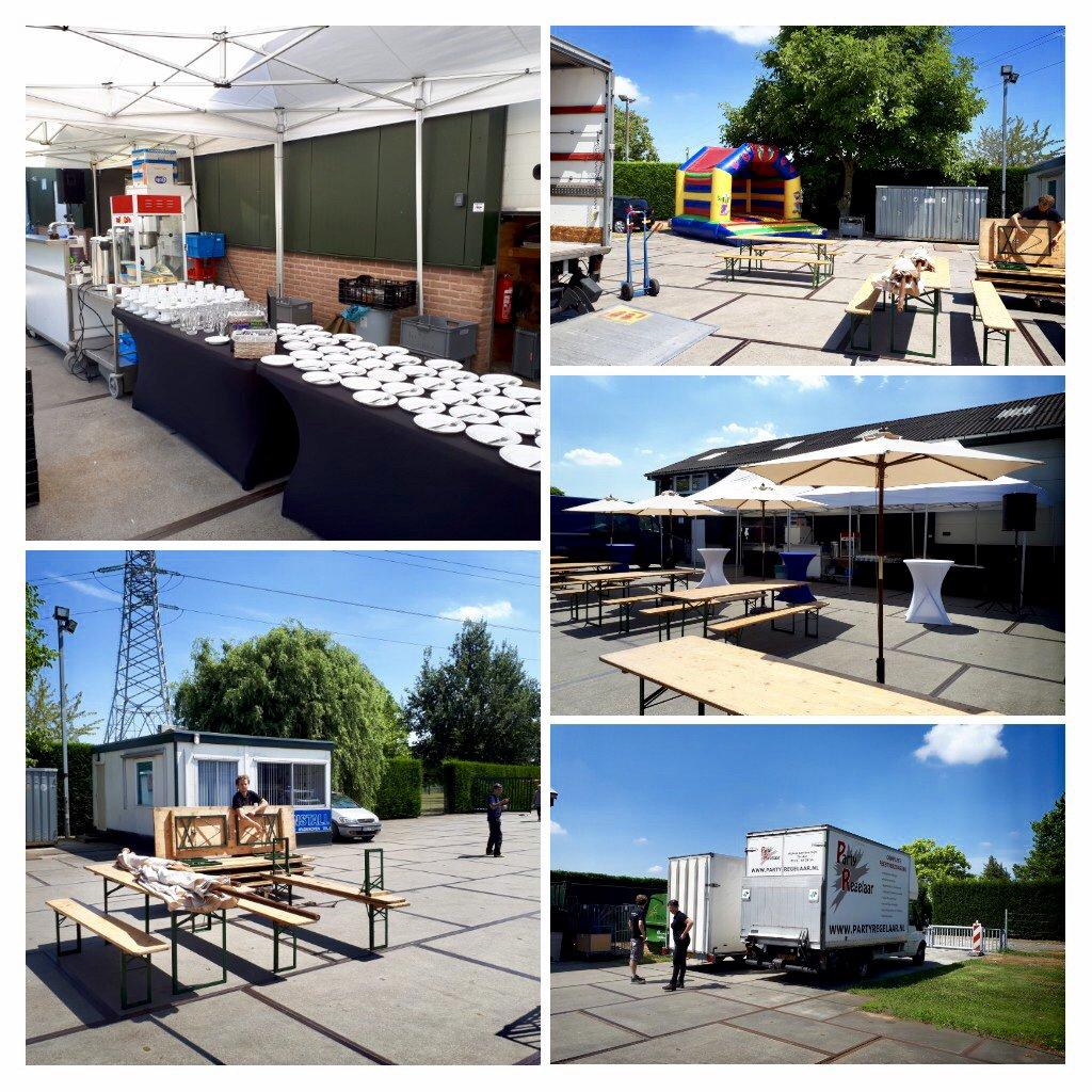 We staan der klaar voor! #compleetfeest #partyregelaar #waddenooijen #catering #verhuur #bbq