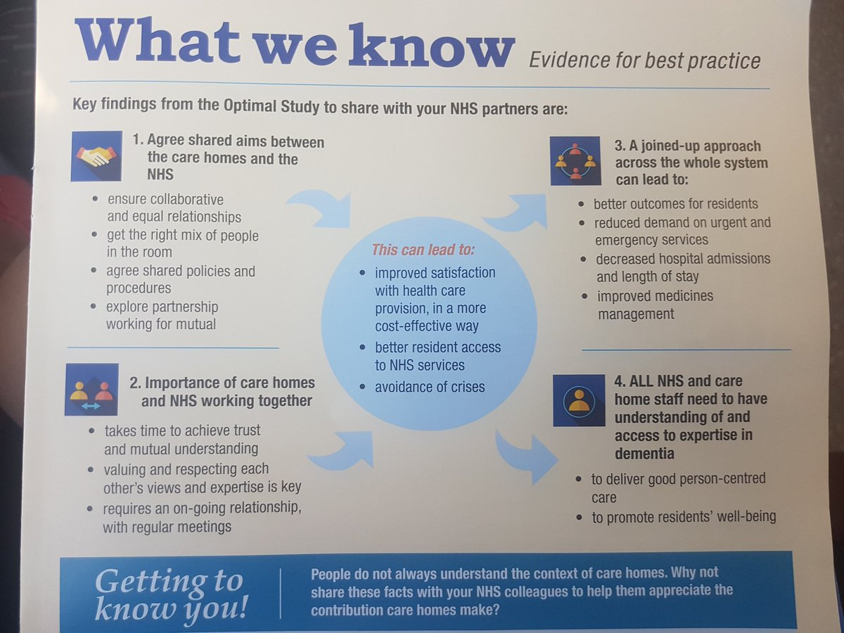 the importance of partnership working with colleagues