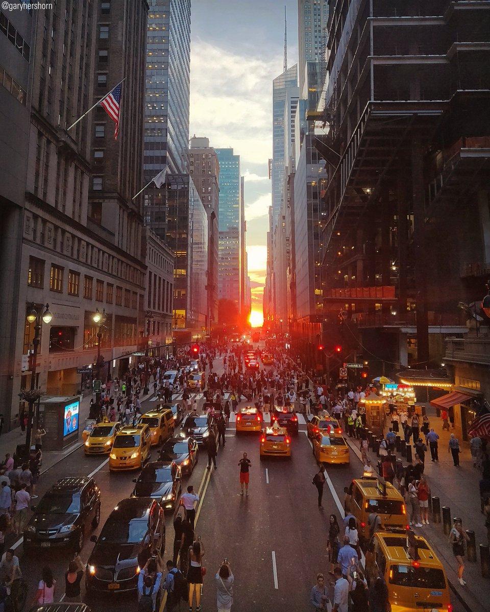 """Manhattan Streets: Fox News On Twitter: """"A Manhattanhenge Sunset Is Seen From"""
