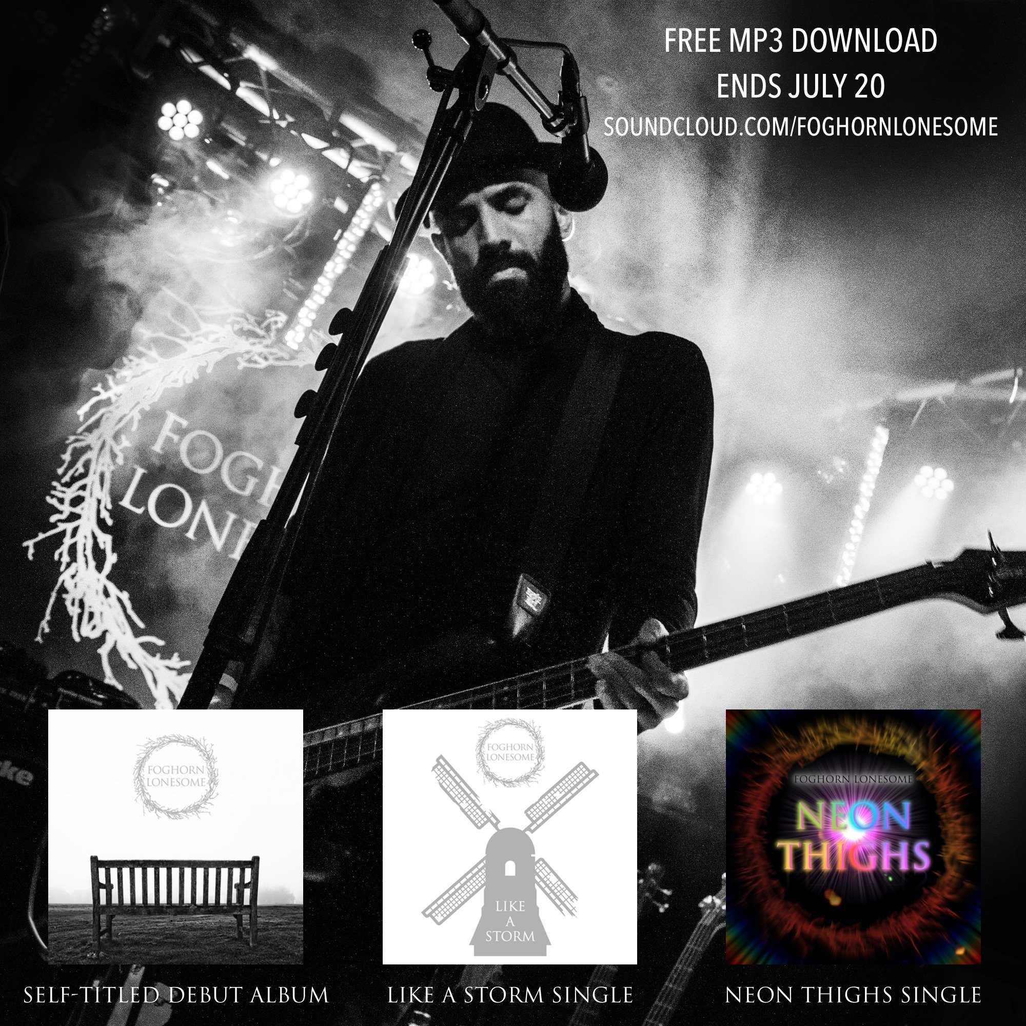 Free mp3 download. Ends june 5. Foghorn lonesome | facebook.