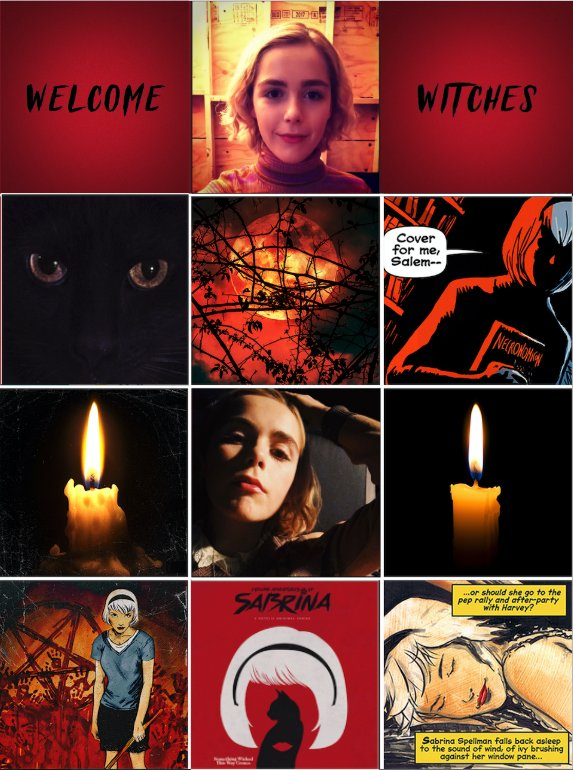 Happy Friday the 13th, Witches! Welcome to #Sabrina at #Netflix!