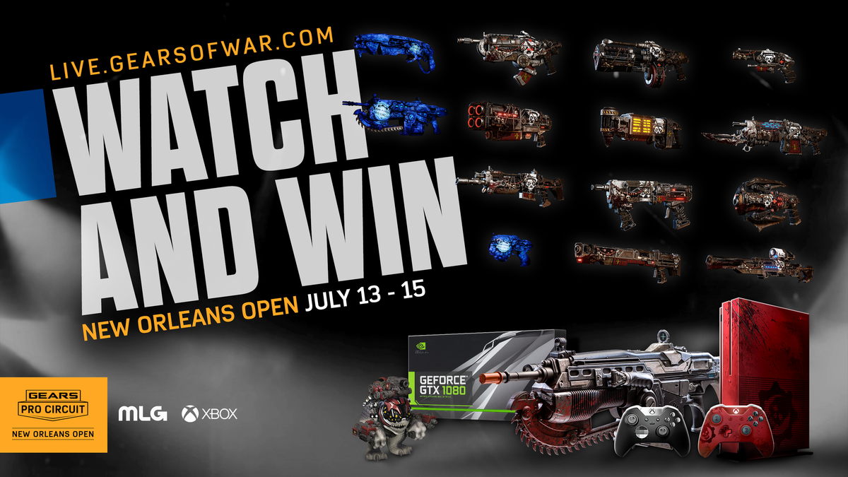 gears of war esports on twitter tune into the mlg gears pro