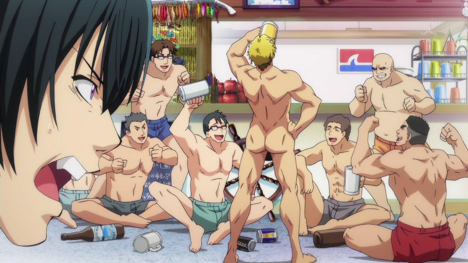 Resultado de imagen de grand blue anime