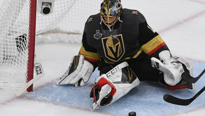 Marc-Andre Fleury signs 3-year extension with Golden Knights Photo