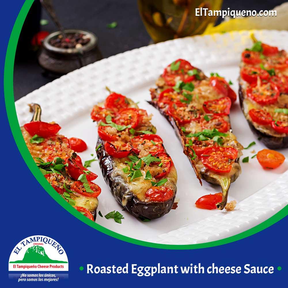 Roasted Eggplant with ##cheese Sauce https://t.co/g7vUm3wEg2 https://t.co/tafZrHnUT9
