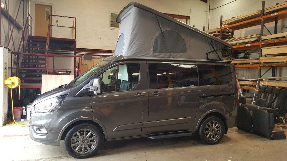 Wellhouse Leisure On Twitter Our First Ford Terrier Le Tour Model Solar Panel Roof Elevating Full Width Sliding Rear Seat System Driver And Passenger Swivel Seats Curtains Mains Hook Up Eberspacher Heating