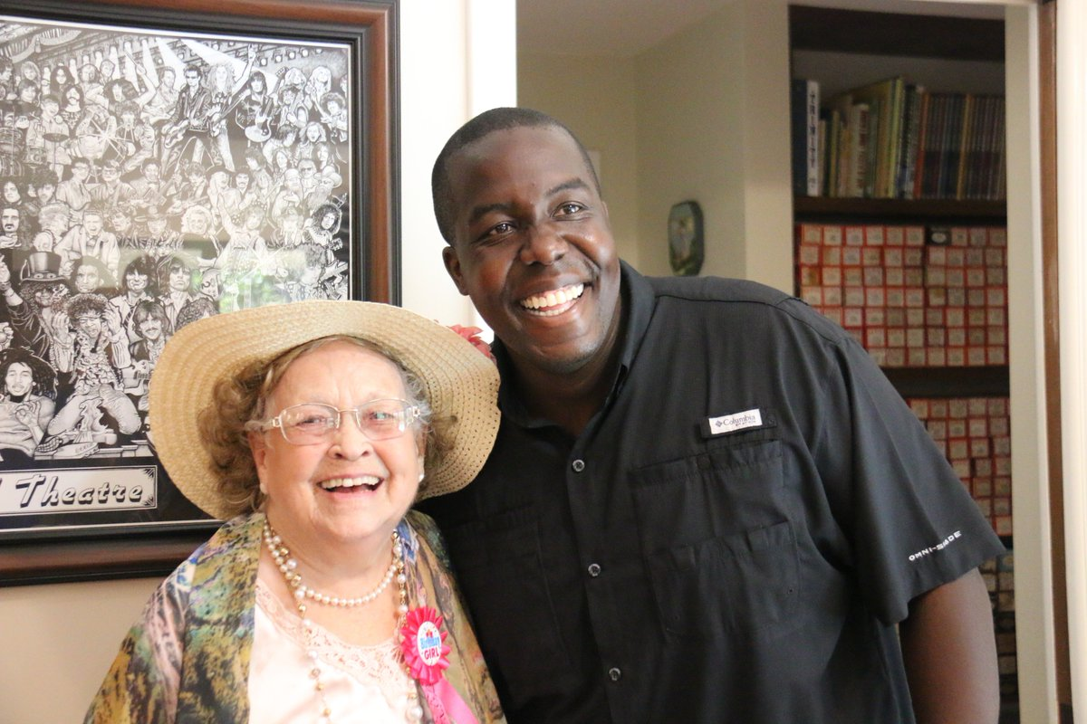 ... helped out before  Irma last year  She turned 95 today and a couple of  our folks crashed her party in Palm Harbor. Happy birthday to the sweetest  woman ... 0db79727b0
