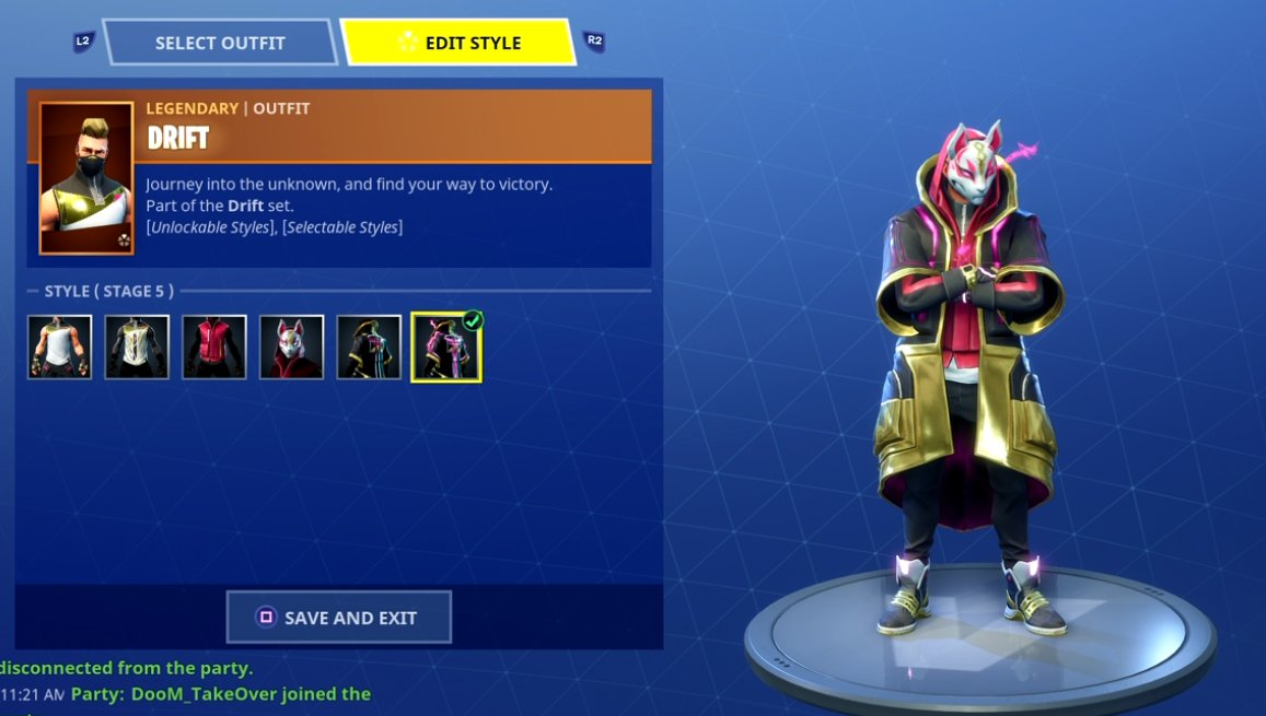 Tyler On Twitter Quot Max Drift Skin Lets Get It