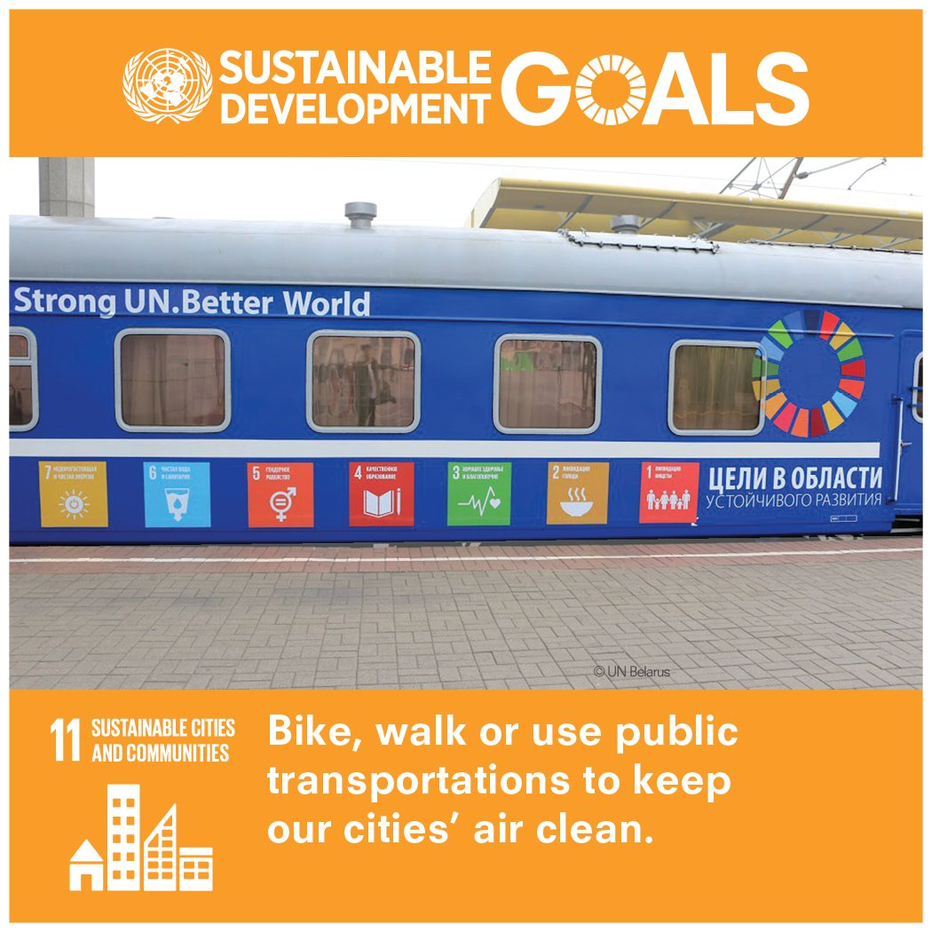 Cities can be planned & managed in a way that is sustainable & helps achieve the #GlobalGoals: bit.ly/1DsQN3n