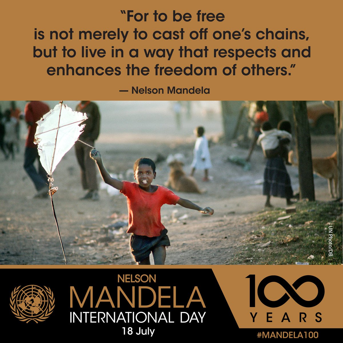 Ahead of #MandelaDay, new exhibit on display at UNHQ in NYC celebrates the centenary of the human rights icons birth by showcasing his contributions to the work of the UN bit.ly/2G6GI5V