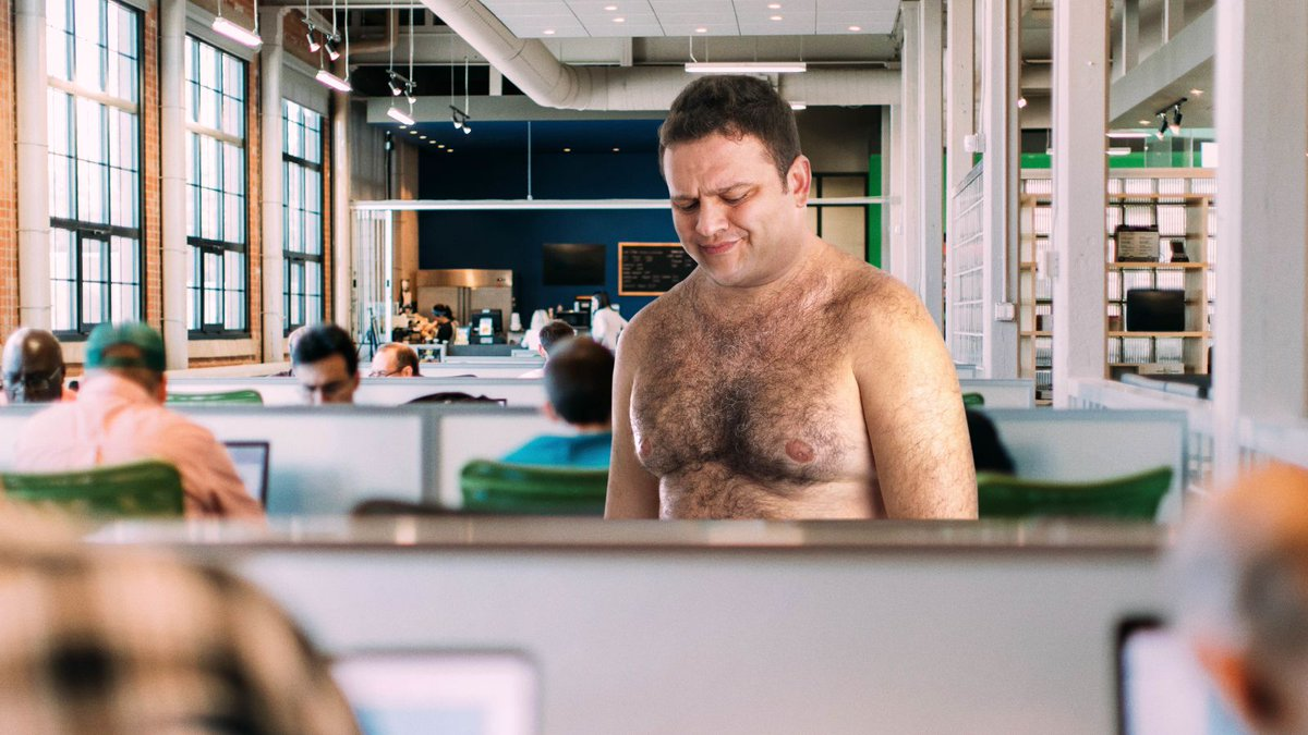 Man Keeps Having Same Experience Where He Shows Up To Work Naked trib.al/YihLkkO