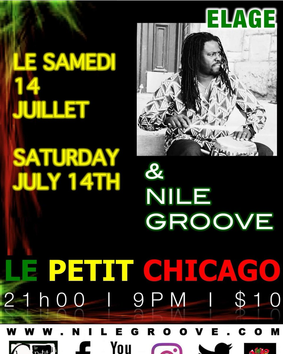 Nile Groove Band On Twitter Tomorrow Night We Are Bringing