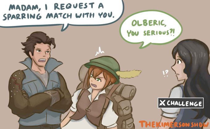 Olberic is already one of my favorites in #OctopathTraveler Photo