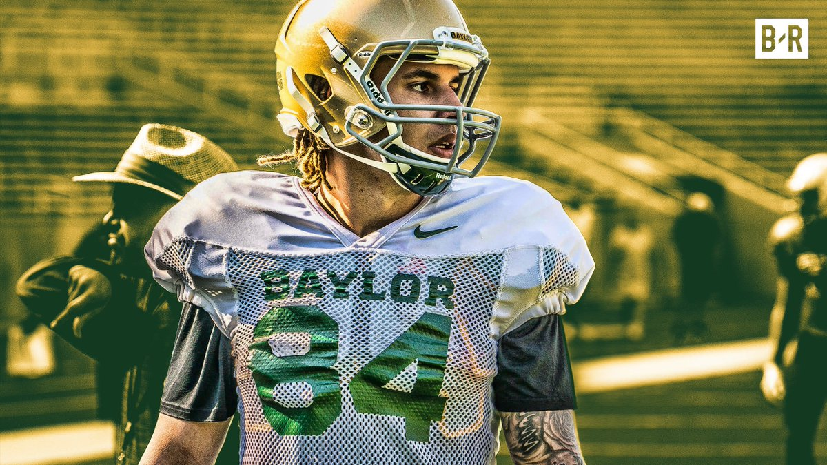 Jalen Hurd was a 1st-round NFL RB talent until he mysteriously left Tennessee to become a WR at Baylor. He speaks on the decision that could cost him millions bit.ly/2LiCHhz