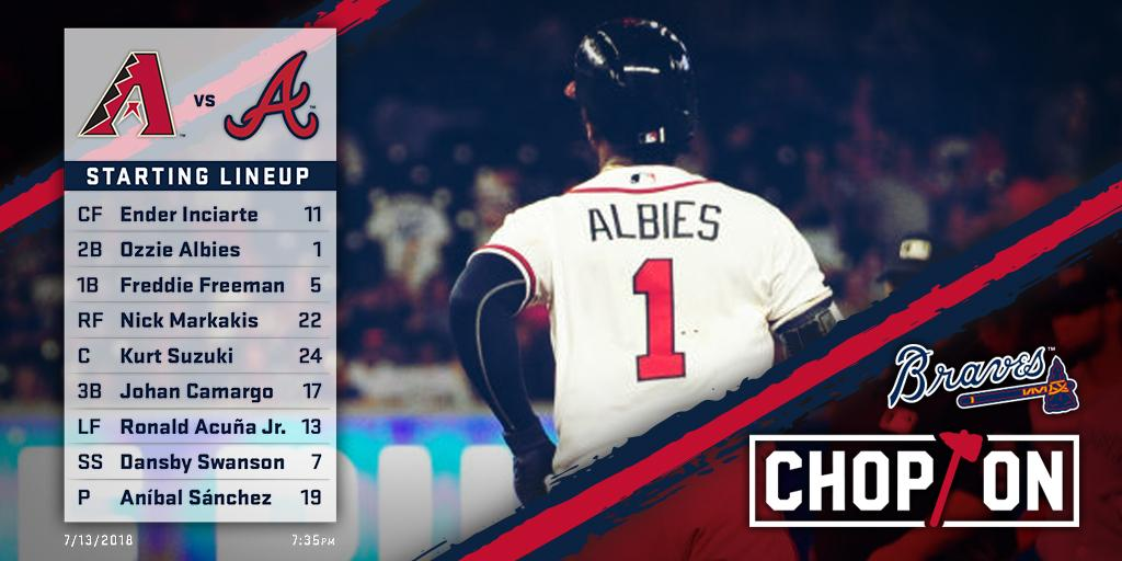 super popular 58dc5 fb049 Atlanta Braves on Twitter: