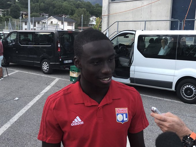 🎙️ @ferland_mendy: I'm happy to have scored my first goal for OL! We tried to play our best. Our legs were pretty fresh. It was frustrating to concede the late goal. #SIONOL Photo