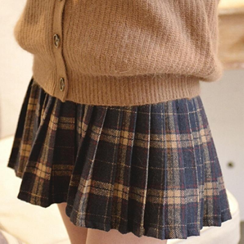 995cd6d2135b Students Grid Skirt (SE10902) from #sanrense Use