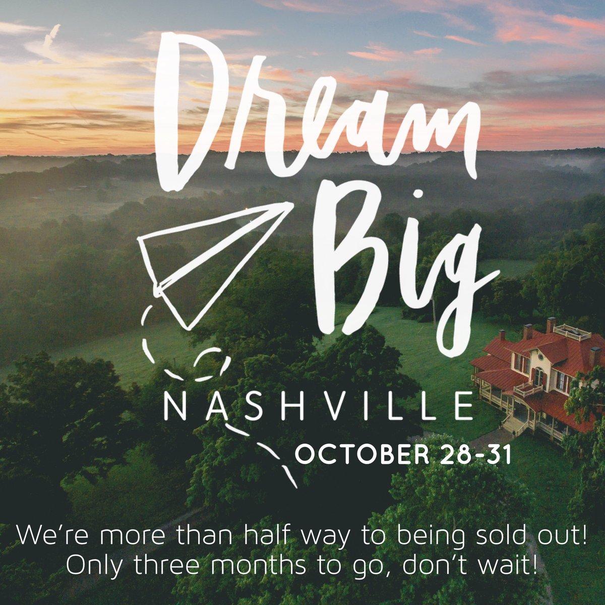 Hope you can join us! dreambigframework.com/workshops/onsi… October 28-31    Nashville