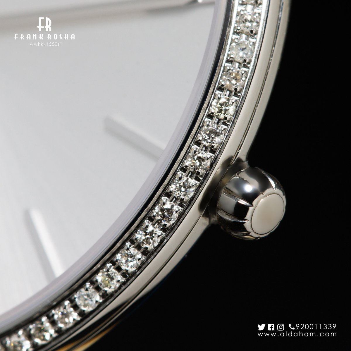 fdafe15925358 ... encircled by diamonds and accompanied by an elegant bracelet. This is  how luxury is defined.  الدهام  فرانك روشا pic.twitter.com WeTSEbA094